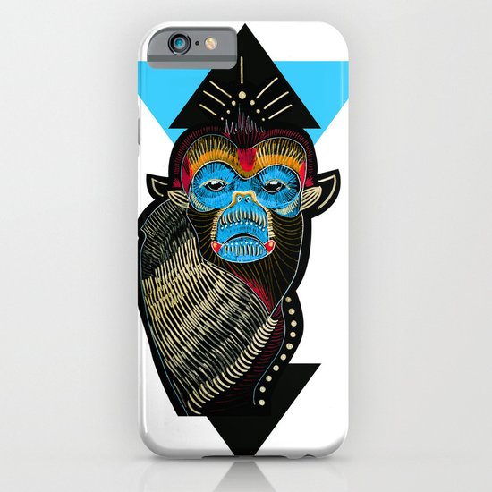 Color me Monkey iPhone & iPod Case