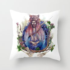 Soldier On Throw Pillow