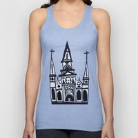 I Heart St. Louis Cathed… Unisex Tank Top