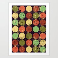 Circles 2 Art Print