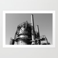 Monument to Industry Art Print