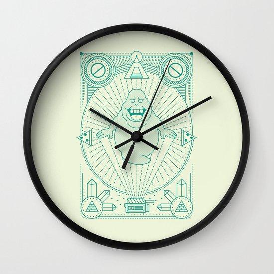Slimer Jam Wall Clock
