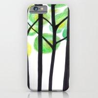 blacks trees iPhone 6 Slim Case