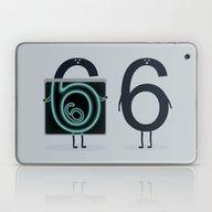 Laptop & iPad Skin featuring Numerical Horror Story by Filiskun
