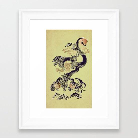 Shen-Lung Framed Art Print