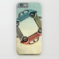 4 More Bugs _ VW Beetle iPhone 6 Slim Case
