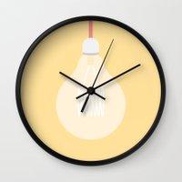 #74 Edison Globe Wall Clock
