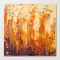 Fire Lillies Canvas Print
