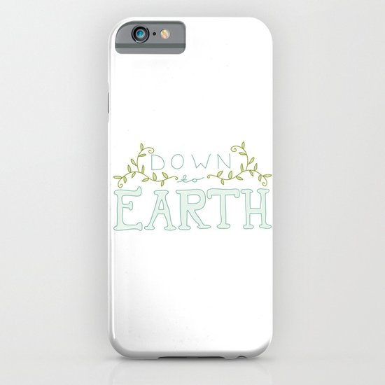 Down to Earth iPhone & iPod Case