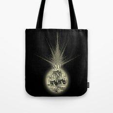 sunlight on Mars Tote Bag