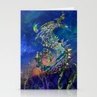 Sea Dragon. Stationery Cards