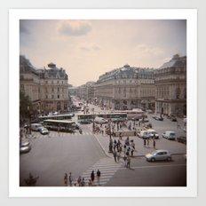 Opéra Art Print