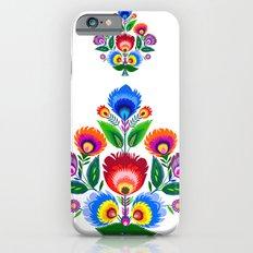 folk flowers ornament  Slim Case iPhone 6s