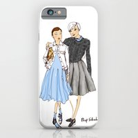 Prep School Girls fashion illustration  iPhone 6 Slim Case