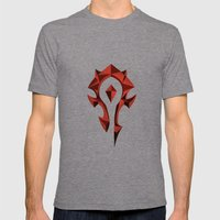 for the horde Mens Fitted Tee Tri-Grey SMALL