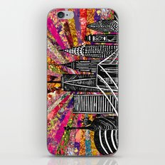 Linocut New York Blooming iPhone & iPod Skin