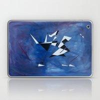 Blue Pattern Art  Laptop & iPad Skin