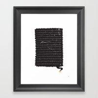 Ligthning Strike | Rath Framed Art Print