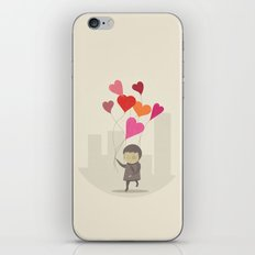 The Love Balloons iPhone & iPod Skin