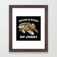 What a Piece of Junk! Framed Art Print