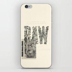 RAW iPhone & iPod Skin