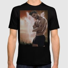 Jamie Dornan, sexy sexy Mens Fitted Tee Black SMALL