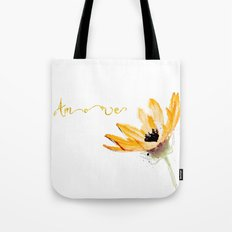 Flower Amore Tote Bag
