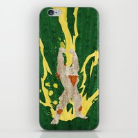 Call Me, Jimmy (Homage to Blanka from Street Fighter) iPhone & iPod Skin