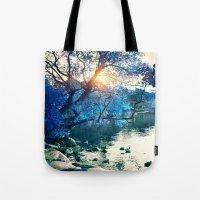 Hope In Blue Tote Bag