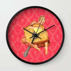 Toasted Wall Clock