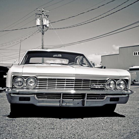 Chevy classic Canvas Print