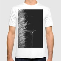 Reaching Out Mens Fitted Tee White SMALL