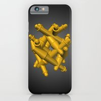 iPhone & iPod Case featuring Gathering by Charles Emlen