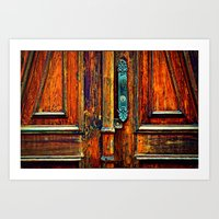 Doorways V Art Print