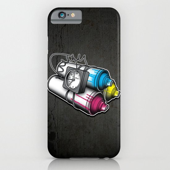 Graffiti Bombing iPhone & iPod Case
