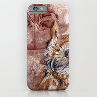 iPhone & iPod Case featuring Human Owl by Sarah Sutherland
