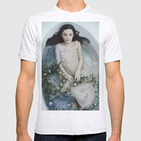 Mermaid 2 Mens Fitted Tee Ash Grey SMALL