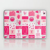 Laptop & iPad Skin featuring Fright Delight by Josh Ln