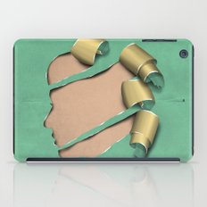 real woman iPad Case