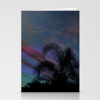 Palm Sun Down Stationery Cards