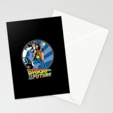 Bark to the Future Stationery Cards