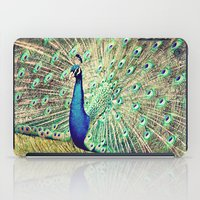 Pretty as a Peacock iPad Case