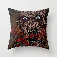 Keep Dreamin' Krueger Throw Pillow