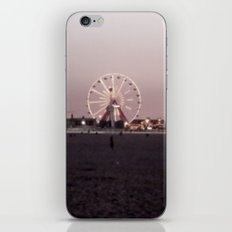 Farris Wheel at Night iPhone & iPod Skin