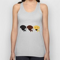 Labrador Retriever dog Unisex Tank Top
