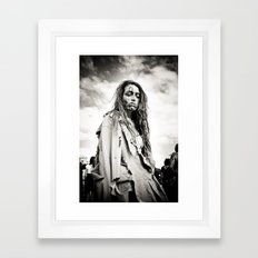 confused Framed Art Print