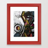 Untitled (modernist piece 01) Framed Art Print