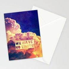 WE HAVE NO LIMITS II - for iphone Stationery Cards