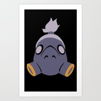 Roadhog Art Print