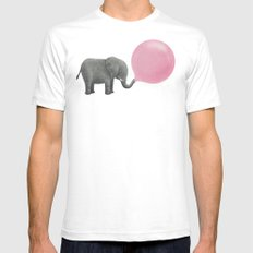 Jumbo Bubble Gum  Mens Fitted Tee White SMALL